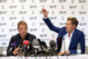 parish happy for de boer to use palace as a stepping stone to...