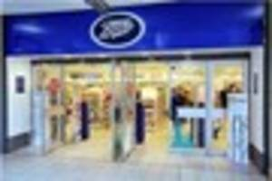 Boots store in Coopers Square shopping centre in Burton removes...