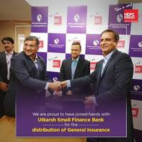 HDFC ERGO Joins Hands with Utkarsh Small Finance Bank to Offer General Insurance Products to the Bank's Customers