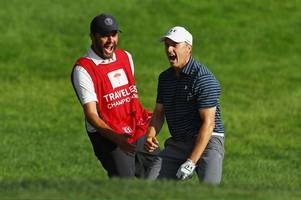 """after phil mickelson and caddie """"bones"""" mackay split will spieth and greller be golf's new golden couple?"""