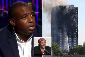 mp david lammy fears grenfell tower fire death toll 'covered up by government worried it would spark riot'