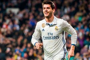 manchester united target alvaro morata flies back from honeymoon to speed up old trafford switch