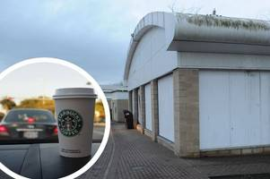Scotland's largest drive-thru Starbucks will open in Hamilton by end of July