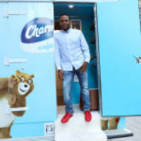 photos of charmin and black-ish star anthony anderson unveiling charmin van-go in new york city available on business wire's website and the associated press photo network