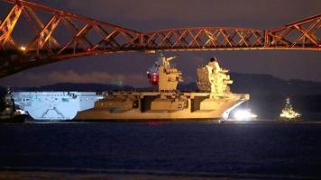 Tight squeeze for UK's new aircraft carrier