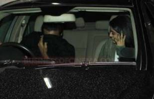 photos: navya naveli nanda spotted with a mystery guy outside a movie theatre