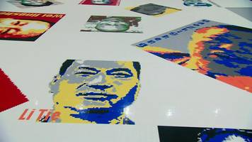 Ai Weiwei's Lego art showing dissidents hits US