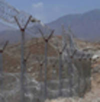 pakistan, accused of terrorist infiltration, starts to fence its border with afghanistan