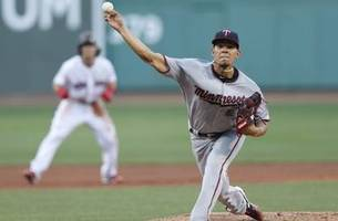 berrios fans 7, but twins fall 4-1 to red sox