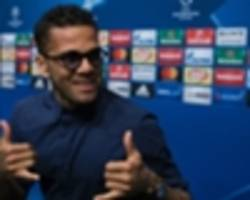 Jesus pleads with Dani Alves to join Man City - 'He motivates you to win in life and football'