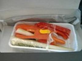 is this the dullest airline meal ever?