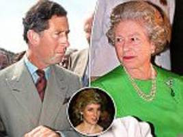 diana's death caused fallout between charles and the queen