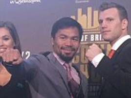 manny pacquiao hoping for horn ko to lure floyd mayweather