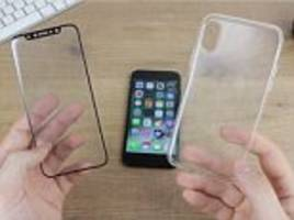 iPhone 8 design revealed with screen protector and case