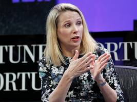 marissa mayer defended uber founder travis kalanick: 'he's a phenomenal leader'