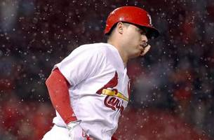 Cardinals option Diaz to Triple-A, purchase contract of infielder Alex Mejia