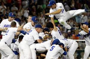 florida sweeps lsu to capture first college world series crown