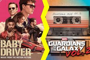 'baby driver' v 'guardians of the galaxy': which has best soundtrack of music that mom liked?