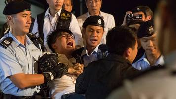 Hong Kong anniversary: Pro-democracy protesters arrested