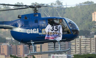 Venezuela President Maduro Says Armed Group Started A Coup, Using Stolen Helicopter To Drop Grenades