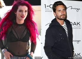 This Is What Bella Thorne Does When Asked If Scott Disick Is a Sex Addict
