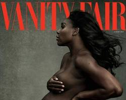 let serena williams's naked pregnancy photo shoot be the last of its kind