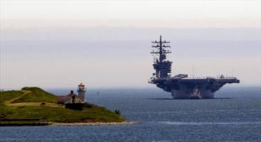 Massive U.S. aircraft carrier steaming toward Halifax for Canada Day celebration