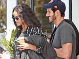 Rihanna keeps her new beau Hassan Jameel smiling in Ibiza