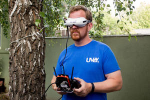 These drone racing goggles could spark the sport's digital era