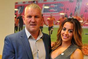 dean windass opens up about bankruptcy, depression and the woman he calls his 'rock'