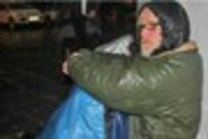 Homeless man has all his property stolen for second time