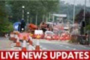 LIVE: Latest breaking news, traffic and weather updates for...