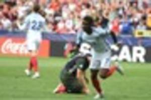 Leicester City's Demarai Gray on England's penalty shoot-out...