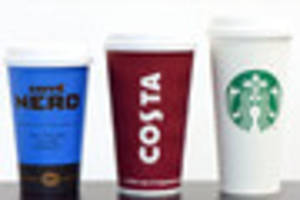 Starbucks, Costa and Caffe Nero cups found to have traces of poo...