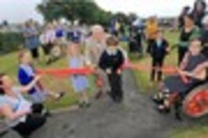 Victoria Park in Redruth is now fit for more children to enjoy...