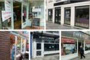 six shops in truro city centre have closed within a month