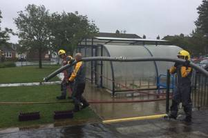 skegness school forced to close half way through day due to flooding