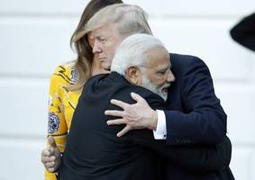 President Trump And India's Prime Minister Vow To Expand Trade Relations
