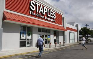 private equity firm buys staples for $6.9 billion