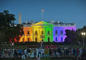 Two years ago, the Obama White House was lit in rainbow colors to celebrate marriage ...