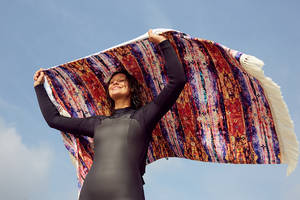 slowtide launches collaboration towel series designed and inspired by kassia meador