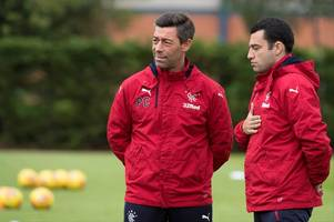 barrie mckay confirmed as rangers outcast as pedro caixinha throws further doubt on winger's future