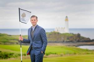 eric trump hails amazing new course as turnberry unveils king robert the bruce layout