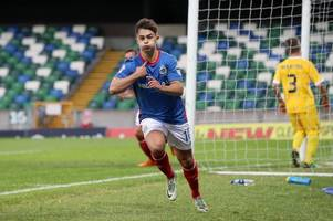 linfield 1 la fiorita 0 as belfast side take slender lead to san marino for right to face celtic