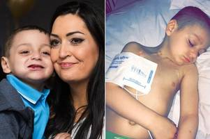 Six-year-old cancer sufferer Bradley Lowery is deteriorating fast, his devastated family reveal