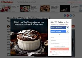 The New York Times is now charging for its cooking site