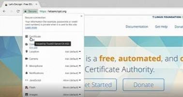 Chrome OS Team Experimenting with a Certificate Section in the Page Info Pop-Up