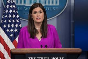 press secretary slams reporters for accusing her of 'inflaming the nation' over fake news