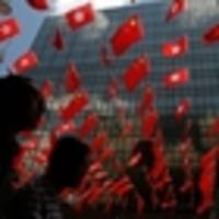 protesters see little reason to celebrate chinese rule