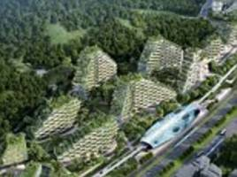 world's first 'forest city' will have one million plants